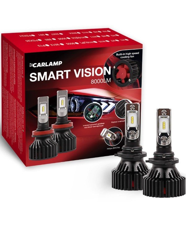 Carlamp - LED autolamps Smart Vision HB4 SM9006