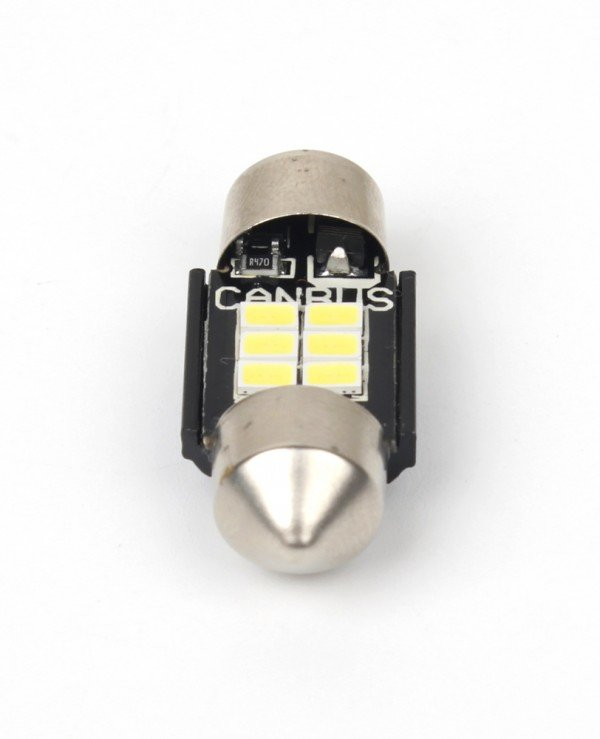 Carlamp - LED autolamps of C10W Soffit + canbus T11 * 31 mm