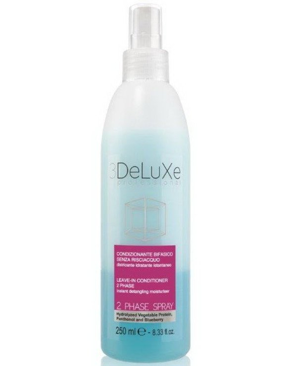 3Deluxe Professional - Spray conditioner 2-phase for all types 2 PHASE SPRAY 3Deluxe 2 phase spray