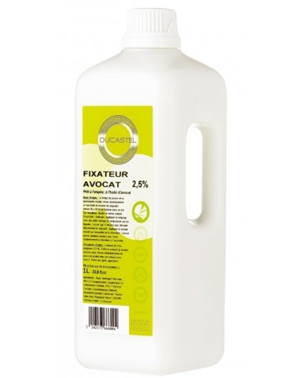 Laboratoire Ducastel - Fixer-neutralizer after chemical waving with Avocado Subtil Permanent D'Avocat 1000ml