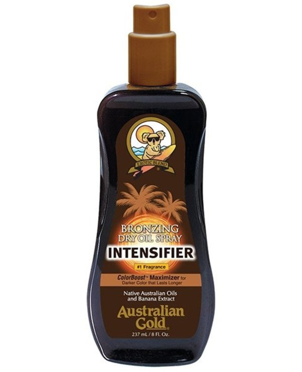 Australian Gold - Dry oil spray to enhance sunburn in the sun Intensifier Dry Oil Spray Intensifier Australian Gold
