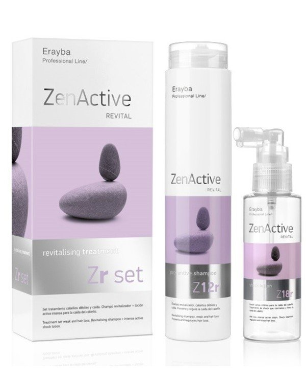 "Erayba - Set ""Against hair loss"" Zr Set Revitalising Treatment"