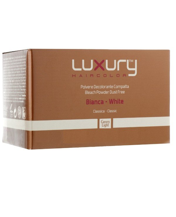 Green Light - Bleaching white powder classic Luxury Hair Color Bleach Powder Dust Free White Classic