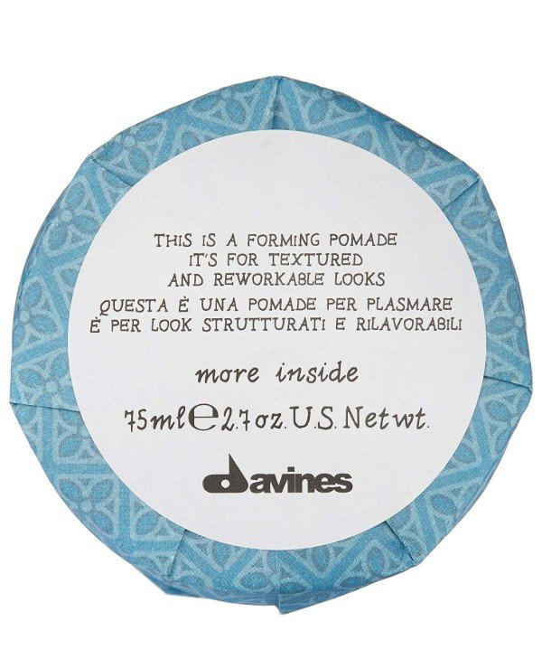 Davines - Modeling lipstick for texture and plastic images This is a forming pomade, it's for textured and reworkable looks