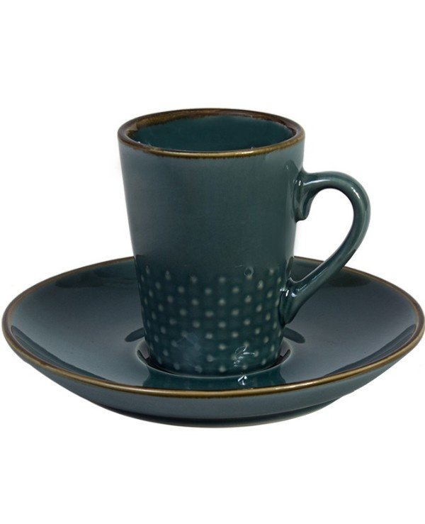 Kaktus - Espresso cup and saucer 100ml