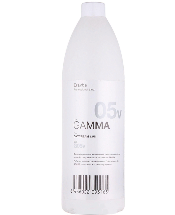 Erayba - Oxidative emulsion Erayba Gamma 05 vol 1,5% Peroxide Cream