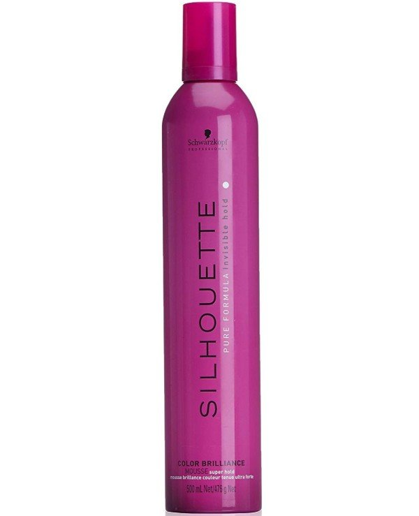 Schwarzkopf Professional - Super Strong Hold Hair Mousse Silhouette Color Brilliance Super Hold Mousse 500ml