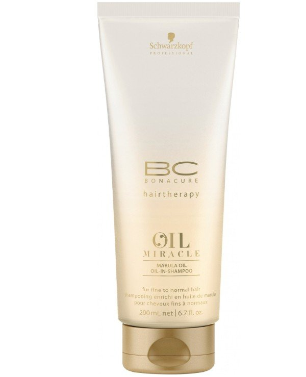 Schwarzkopf Professional - Shampoo for fine and normal hair BC Bonacure Oil Miracle Marula Oil-in-Shampoo 200ml