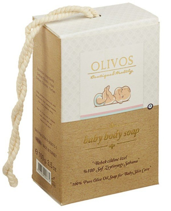 "Olivos - Natural olive soap ""Baby"" Baby Body Soap"