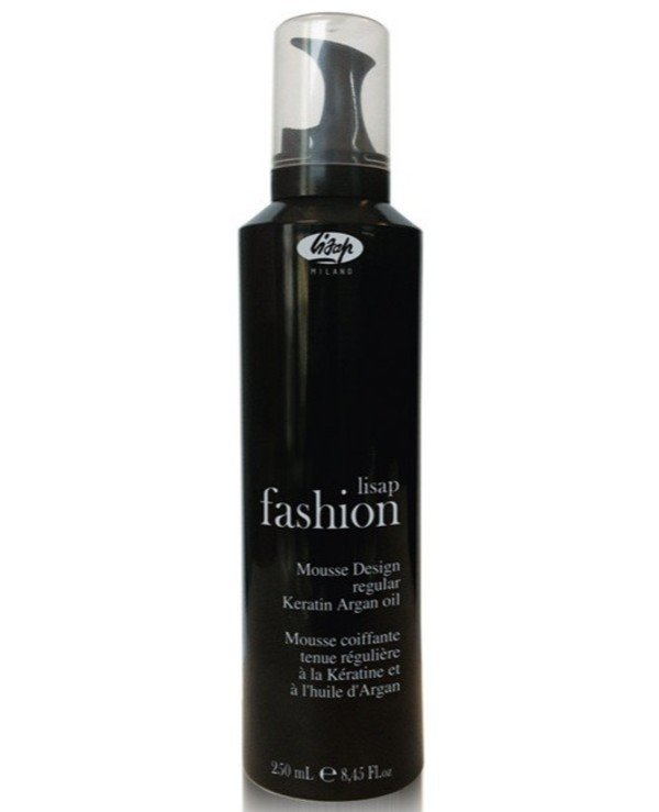 Lisap - Normal fixation foam mousse with keratin and argan oil Mousse design regular 250ml