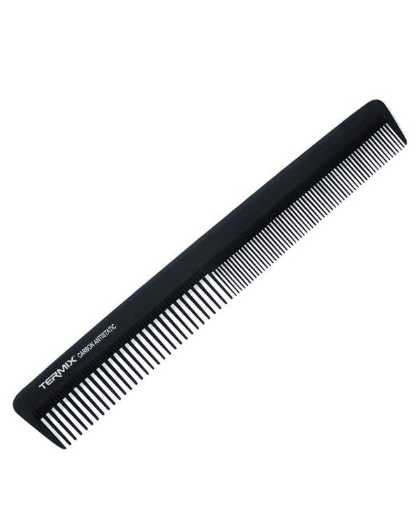 Termix - Hairbrush for a haircut, 19 cm Carbon Comb 824