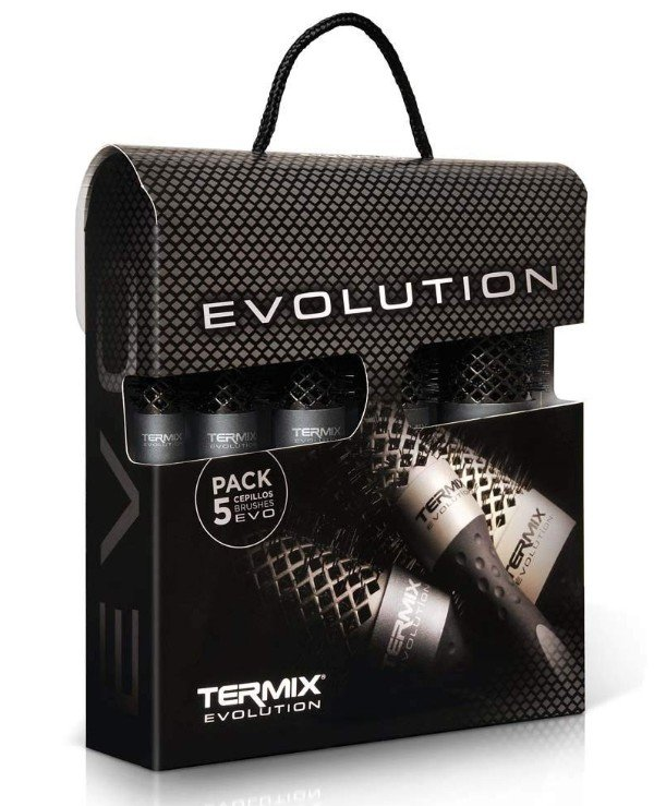 Termix - A set of thermal conversions for thick hair Evolution Plus Brush Kit