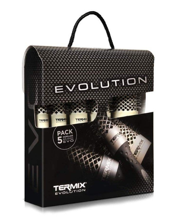 Termix - A set of termobrashing for thin hair Evolution Soft Brush Kit