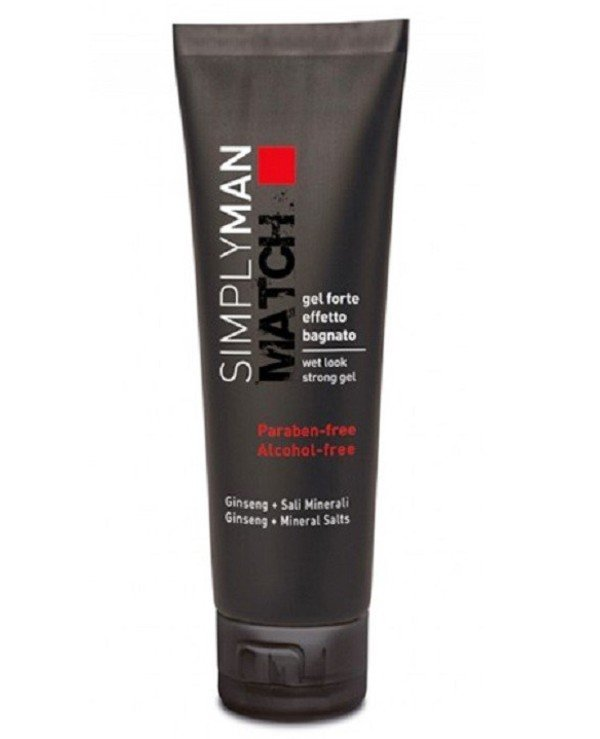 "Nouvelle - Male gel strong fixation with the effect of ""wet hair"" Wet Look Strong Gel 150ml"