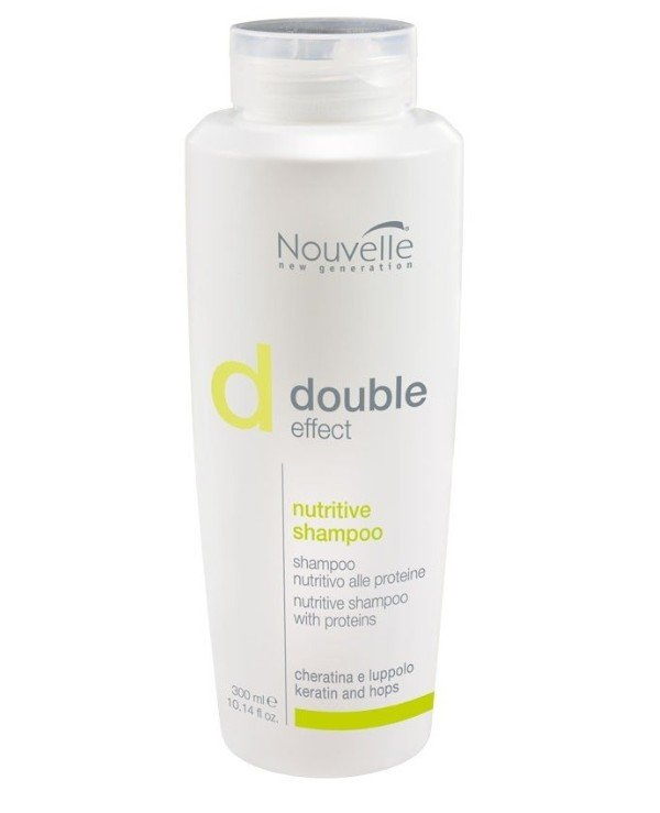 Nouvelle - Shampoo for dry hair with keratin and hops Nutritive Shampoo 250ml