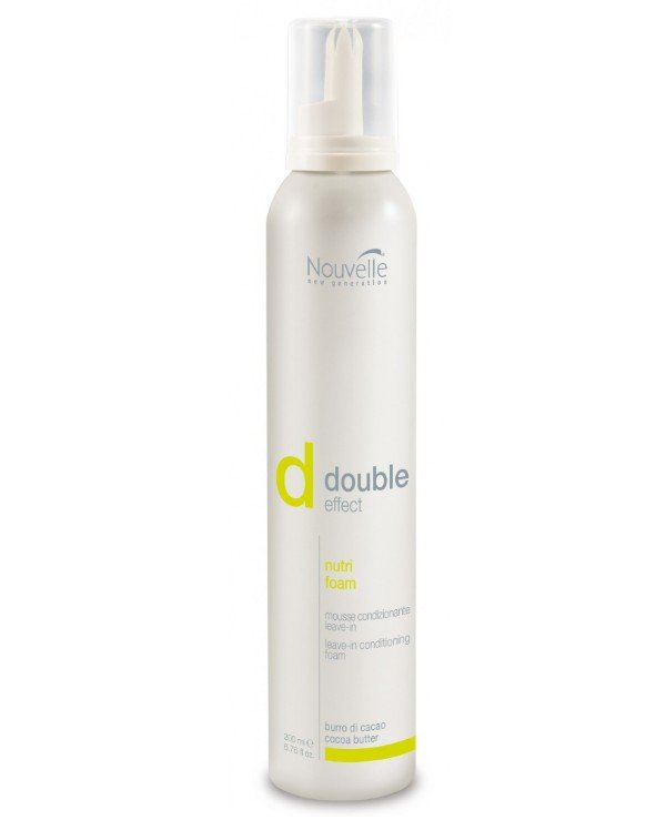 Nouvelle - Mousse conditioner indelible with a nutrient and protective formula for dry hair Nutri Foam 200ml
