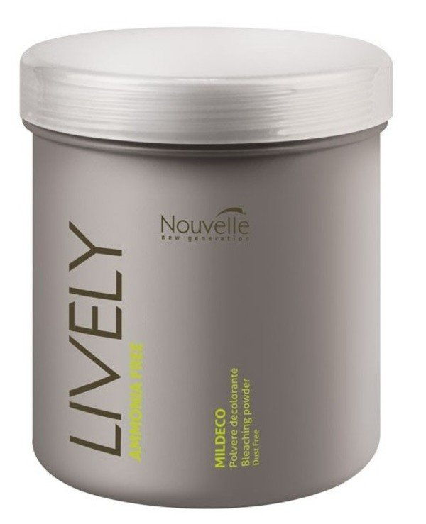 Nouvelle - Ammonia-free brightening powder for soft bleaching of hair Lively Mildeco