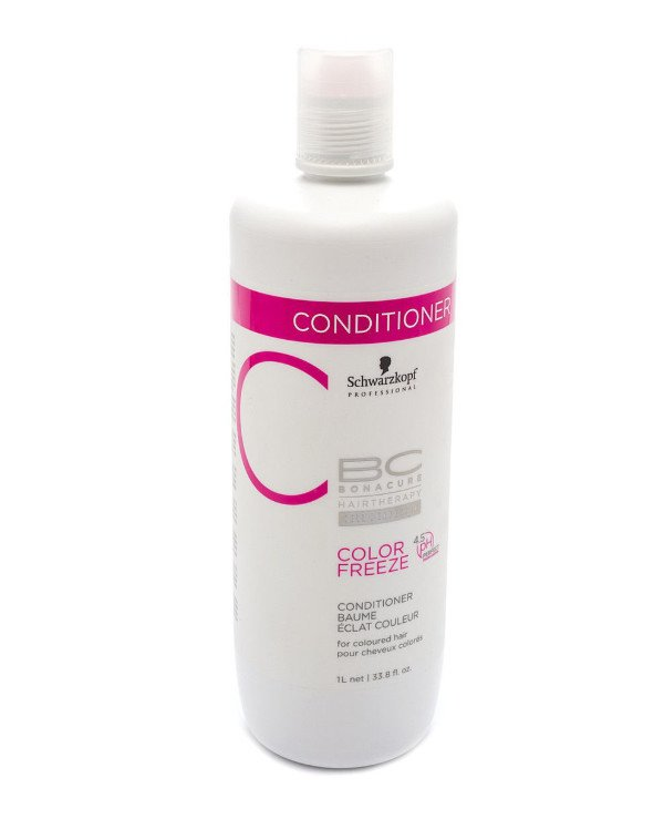 Schwarzkopf Professional - Conditioner for colored hair BC Bonacure Color Freeze Conditioner 1000ml