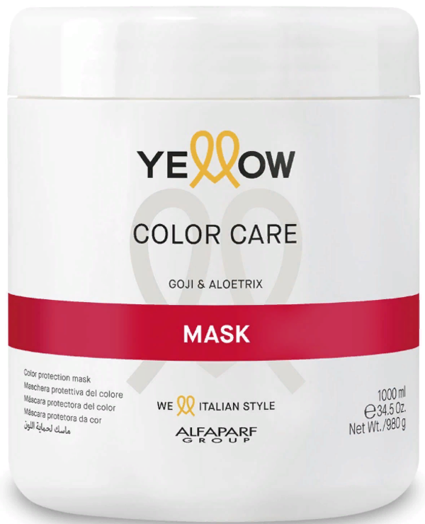 Yellow - Mask for colored hair Jogi and Aloetrix Mask 1000ml