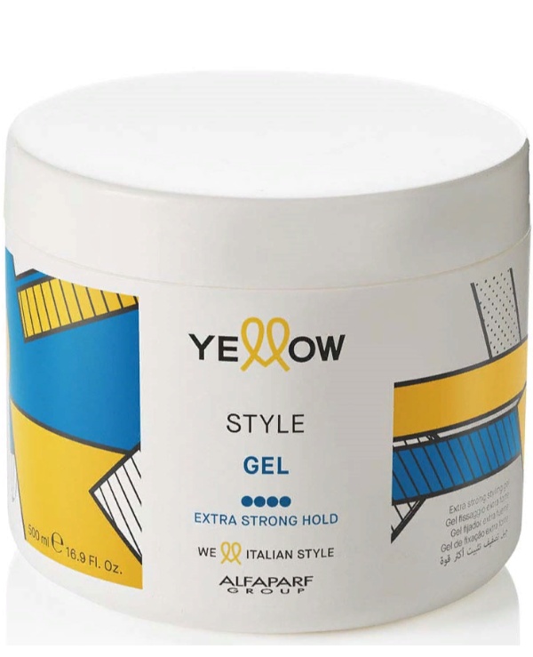 Yellow - Гель для волос Extra Strong Hold Gel 500мл