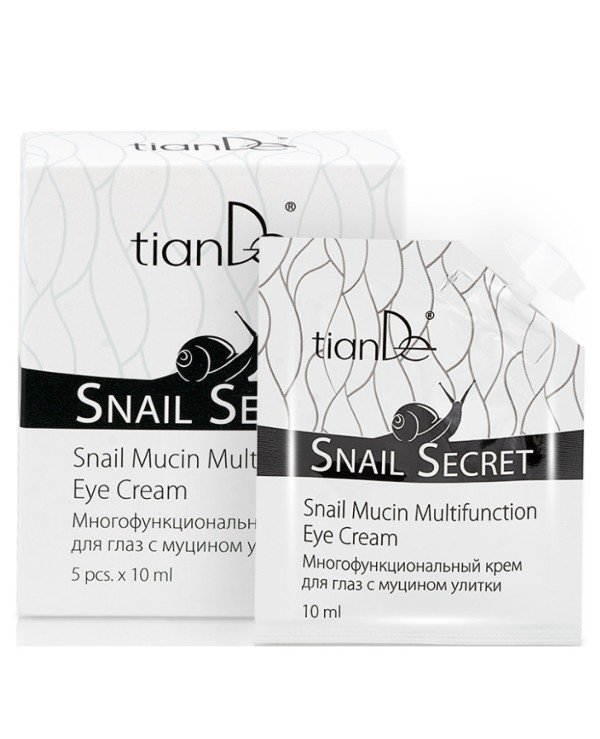 TianDe - Multifunctional eye cream with snail mucin Snail Mucin Multipurpose Eye Cream