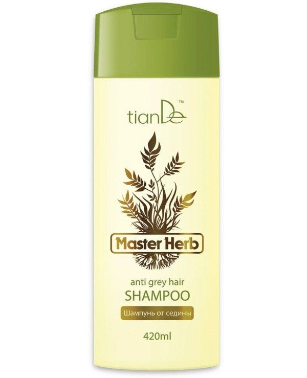 TianDe - Shampoo from gray hair (for damaged hair) Anti Grey Hair Shampoo