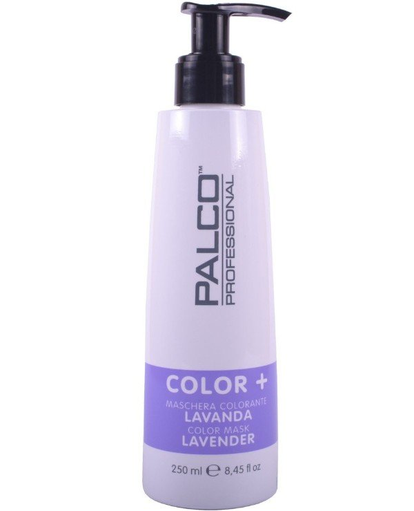 Palco Professional - The nutritious toning mask for hair the Lavender Color + Color Mask Lavander 250ml, Purple