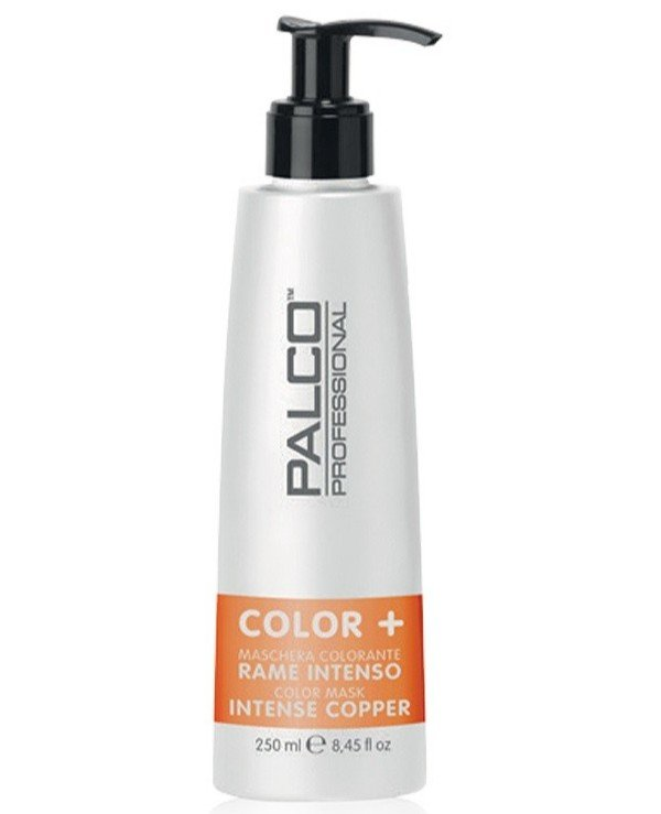 Palco Professional - Nourishing Toning Copper Hair Mask Color + Color Mask Intense Copper 250ml, Copper