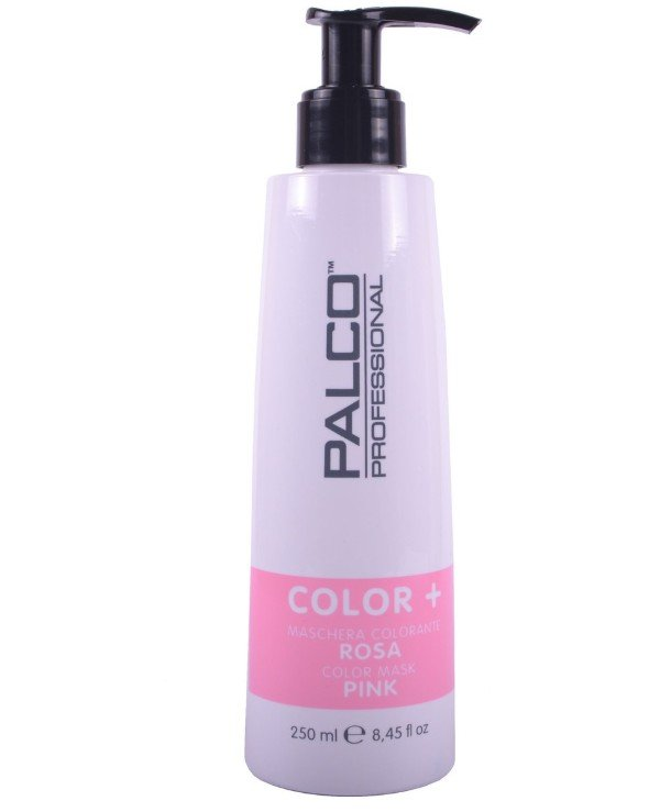 Palco Professional - Nourishing tinting hair mask Pink Color + Color Mask Pink 250ml, Pink