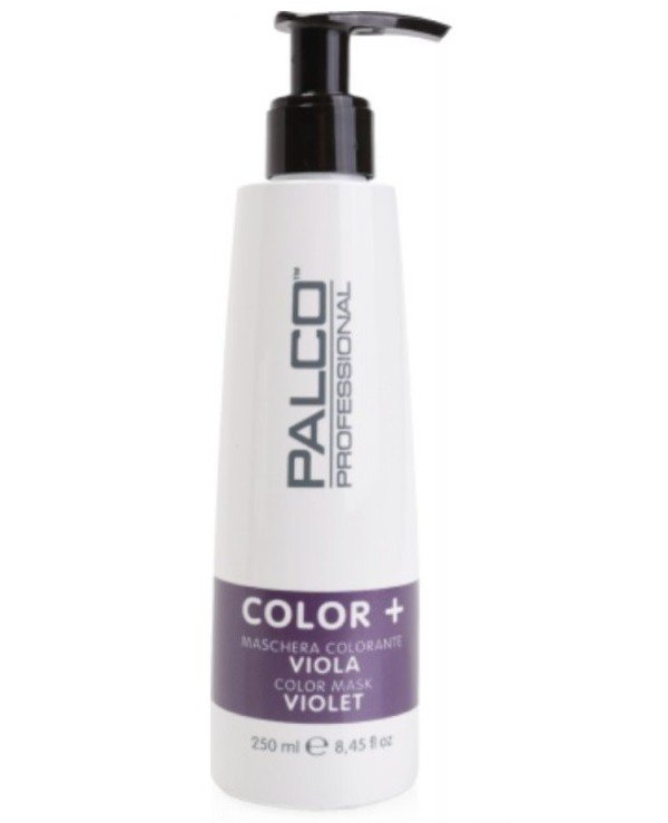 Palco Professional - The nutritious toning mask for hair Violet Color + Color Mask Violet Purple, 250ml