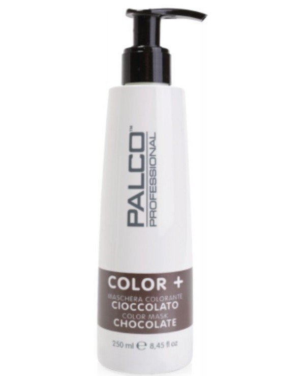 Palco Professional - The nutritious toning mask for hair Chocolate Color + Color Mask Chocolate 250ml