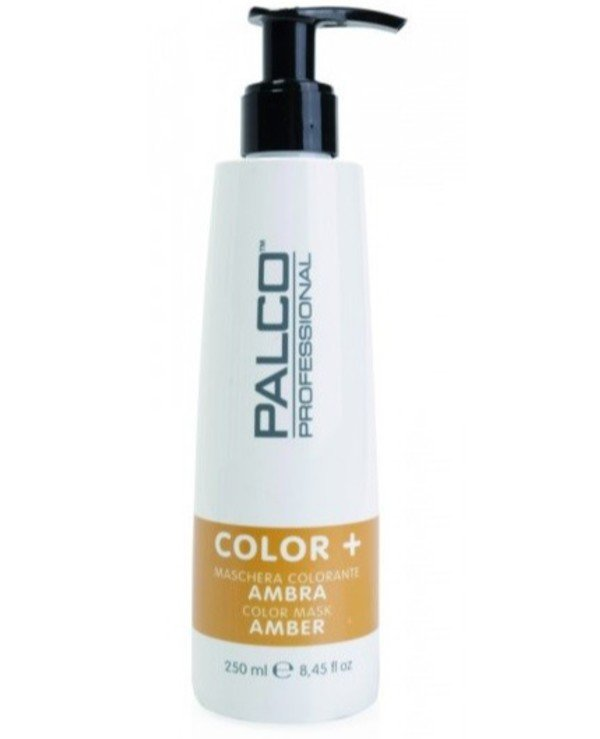 Palco Professional - The nutritious toning mask for hair Amber Color + Color Mask Amber Amber, 250ml