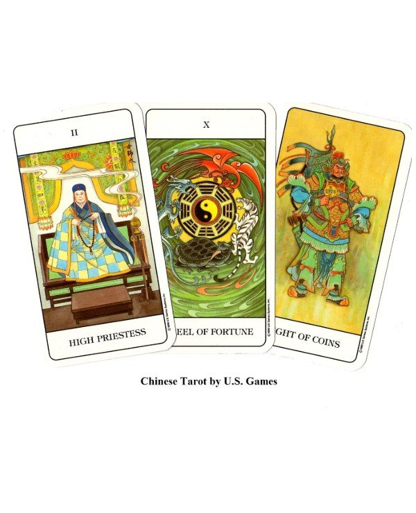 US Games Systems Tarot - Китайское Таро Chinese Tarot  back