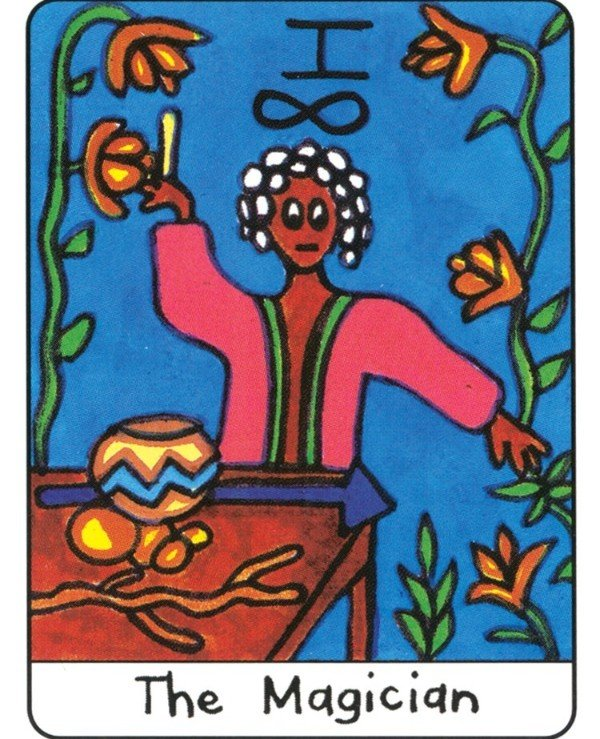 US Games Systems Tarot - Африканское таро African Tarot