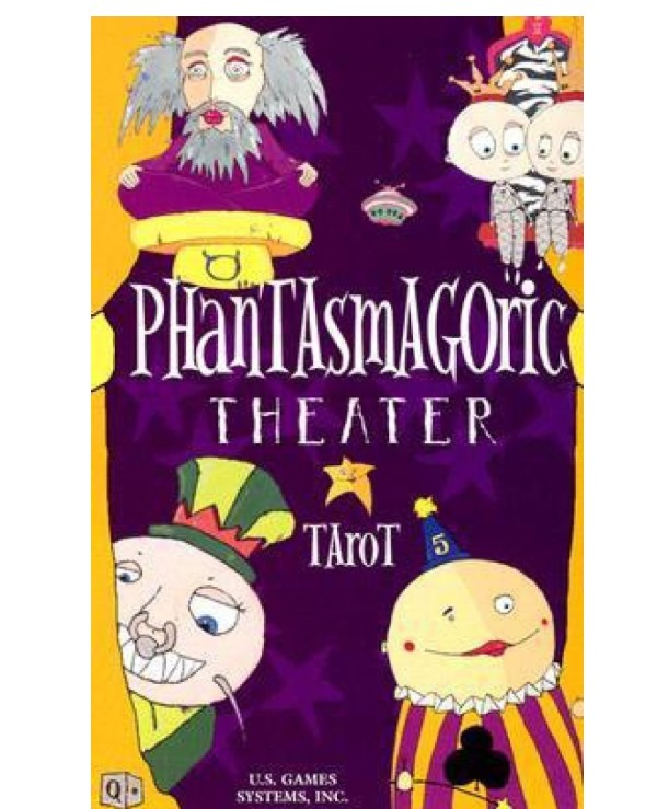 US Games Systems Tarot - Таро Театр Фантасмагорий Phantasmagoric Theater Tarot