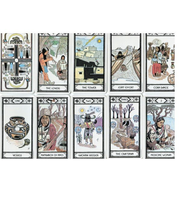 US Games Systems Tarot - Tarot Native Americans Native American Tarot  back