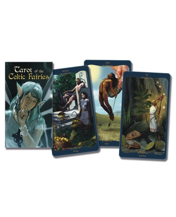 Lo Scarabeo Tarot - Таро Роща Фей Tarot of the Celtic Fairies  back