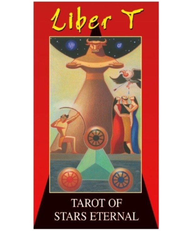 Lo Scarabeo Tarot - Tarot of the Star of Eternity Liber T Tarot Stars Eternal