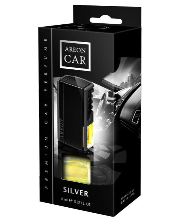 Areon - Perfume Car Silver Aromatizer of air