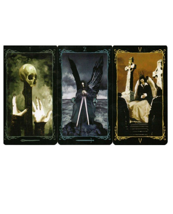 Lo Scarabeo Tarot - Tarot of the Dark Angels Dark Angels Tarot  back