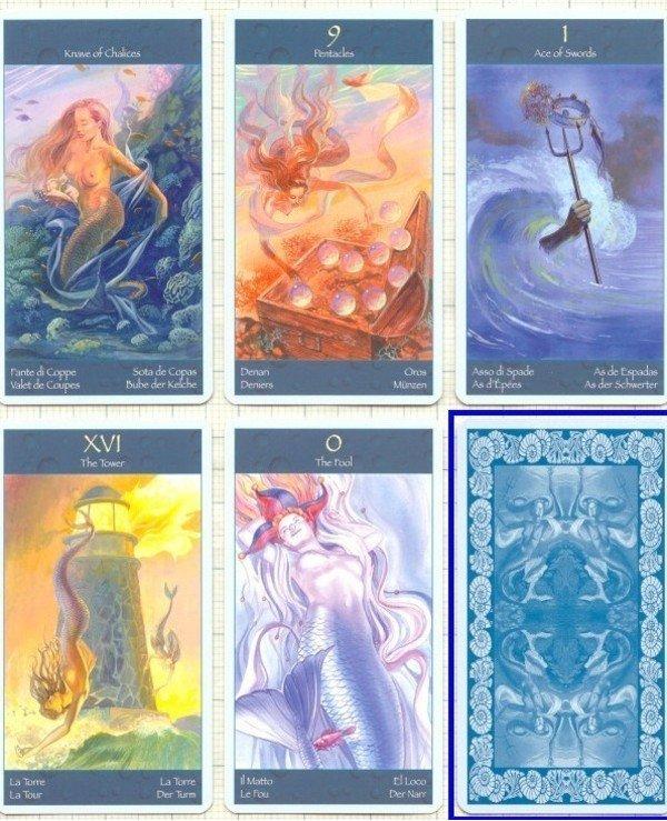 Lo Scarabeo Tarot Taro Magic Siren S World Mini Tarot Of Mermaids Mini Buy From Azum Price Reviews Description Review