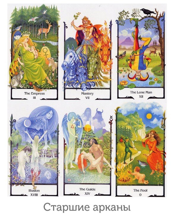 AGM-Urania Tarot - Tarot old way Tarot of the Old Path  back