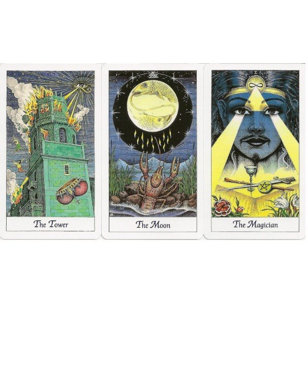 AGM-Urania Tarot - Space Tarot Cosmic Tarot  back