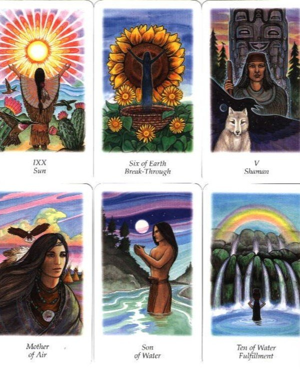 AGM-Urania Tarot - Tarot Search Visions Vision Quest Tarot  back