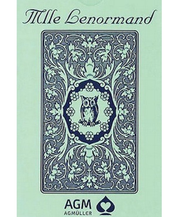 AGM-Urania Tarot - Maps Lenormand Blue Owl Lenormand Blue Owl