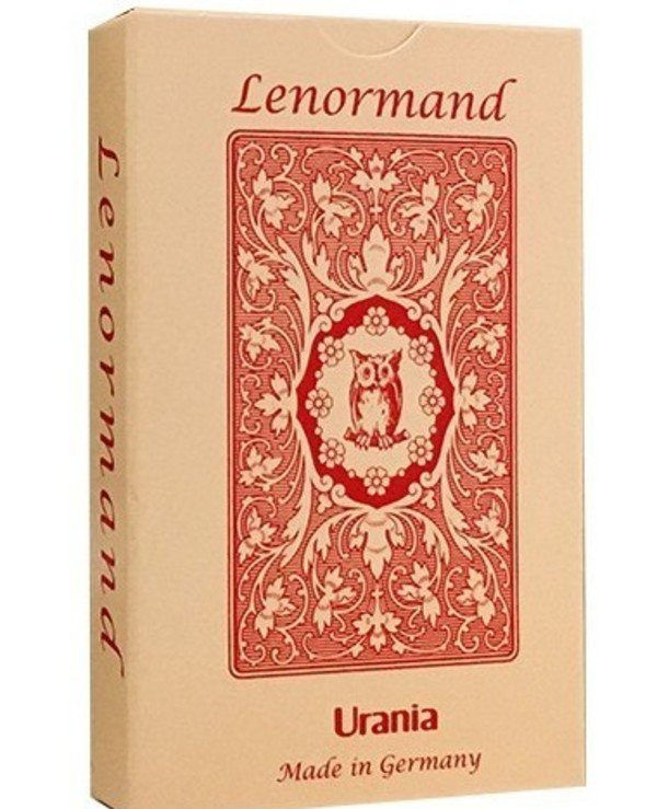 AGM-Urania Tarot - Maps Lenormand Red Owl Lenormand Red Owl