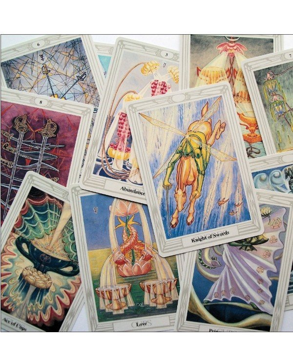 AGM-Urania Tarot - Taro Crowley (in Russian) Crowley Tarot  back