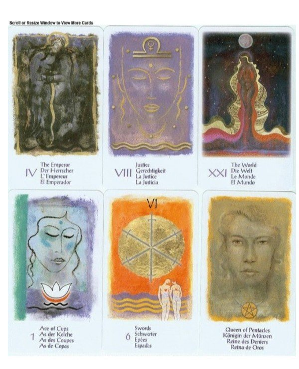 AGM-Urania Tarot - Женское Таро Women's Tarot Tarot  back
