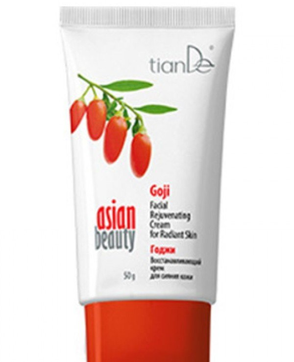 TianDe - Goji Skin Repair Cream Asian Beauty Goji Facial Rejuvenating Cream