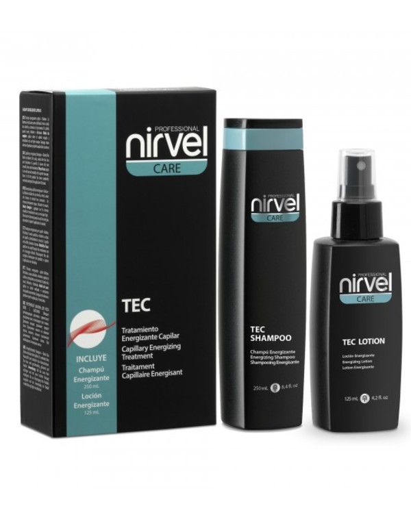 Nirvel Professional - Complex to strengthen and stimulate hair growth with Biotin Capillary Energizing Treatment 125ml